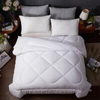 8/10/斤纤维加厚保暖被子冬被棉被春秋冬天宾馆被芯双人定制