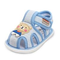 宝宝凉鞋儿童鞋子宝宝鞋春秋学步鞋-1-2岁婴儿宝宝软底鞋