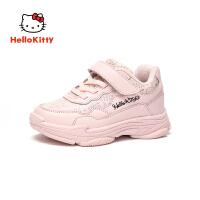 【限时抢:109元】HELLO KITTY凯蒂猫童鞋女童运动鞋2019春秋新款儿童小白鞋女孩学生潮鞋K8543829