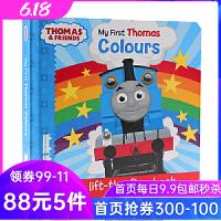英文原版绘本Thomas and Friends my first Thomas Colours 小火车托马斯和他的朋