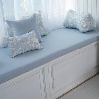 高密度海绵飘窗垫定做窗台垫榻榻米沙发垫床椅垫加硬订制欧式-p定制