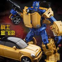 玩具金刚男孩钢索恐龙变形大黄蜂机器人儿童玩具汽车模型