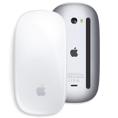苹果Apple蓝牙无线鼠标 Magic Mouse 2 苹果原装无线鼠标新款二代 MLA02CH/A 魔术鼠标内置锂电可充电 只适用苹果Mac电脑
