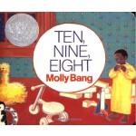 Ten, Nine, Eight [Boardbook]十、九、八(凯迪克银奖,卡板书) ISBN9780688149017