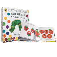 The Very Hungry Caterpillar: A Pull-Out Pop-Up 饥饿的毛毛虫立体书弹出书盒装 Eric Carle卡爷爷经典英文原版绘本