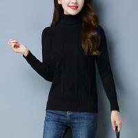 高领毛衣女加厚保暖短款2018新款秋冬宽松韩版的外穿打底