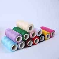 家用缝衣线缝纫线手缝402缝纫机线针线套装39色衣服线粗线