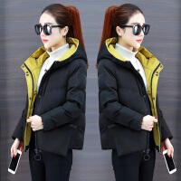 羽绒女装短款2018冬季新款韩版小棉袄时尚棉衣外套加厚面包服