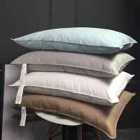 高端酒店枕头羽绒枕芯五星级颈椎护颈枕单个柔软舒适L03定制