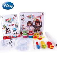 迪士尼儿童手指画套装 创意涂鸦之旅 水溶性无毒颜料儿童绘画套装