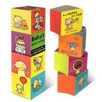 顺丰发货 Baby's Book Tower Four Mini Board Books 幼儿启蒙认知英文原版亲子读物 纸板书