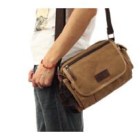 户外小包运动挎包 休闲单肩包 韩版男士斜跨包小背包挂包帆布包