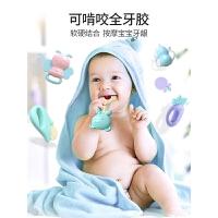 婴儿玩具6-12个月女孩益智宝宝0-1岁初生幼儿手抓可咬摇铃3