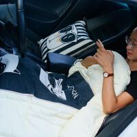 抱枕被子两用汽车多功能沙发靠垫空调被车载靠枕折叠可爱车内用品