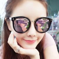 2019新款潮流女士墨镜街拍圆脸眼镜韩版太阳镜
