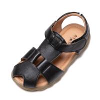 2019夏季新款韩版儿童包头凉鞋男孩软底鞋中大童男童凉鞋