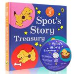 英文原版绘本 Spot's Story Treasury 小波小玻在哪里带CD精装6个故事合集 where is sp