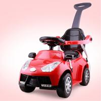 婴儿学步车A+B 三合一学步车 多功能带护栏手推车 儿童可坐滑行车助步车童车