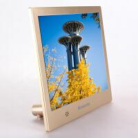纽曼8英寸10英寸高清相框电子相册D08MHD超薄D10MHD精致结婚礼品生日新年礼物16G 32G