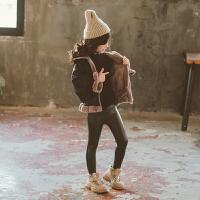 儿童潮流款加厚冬装夹克外套2019新款韩版中大童女童洋气外套