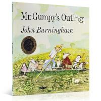 Mr.Gumpy's Outing和甘伯伯去游河 平装大开本 吴敏兰推荐 纽约公共图书馆推荐英文原版绘本 1970年凯特・格里纳威奖
