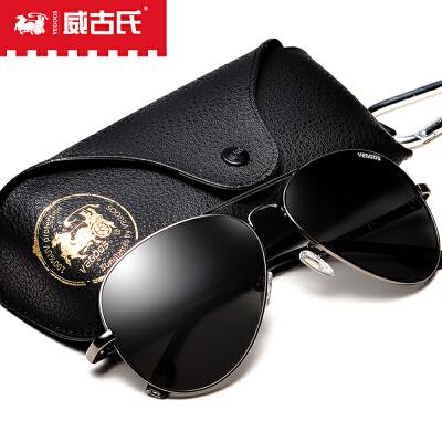 威古氏太阳镜 经典潮流蛤蟆镜驾驶眼镜太阳镜男 3025L【免运费】全场包邮,官方直售