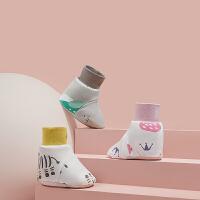 babycare婴儿分腿式睡袋脚套 宝宝春秋季纯棉保暖 男女童薄款脚套