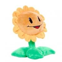 植物大战僵尸2豌豆射手毛绒玩具布娃娃公仔玩偶倭瓜窝瓜太阳花 30厘米