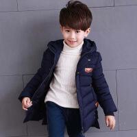 男童棉衣中大童棉袄棉衣秋冬季保暖中长款棉袄韩版新款棉衣