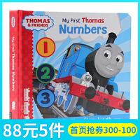 英文原版绘本Thomas & Friends my first thomas Numbers 小火车托马斯和他的朋友们