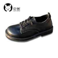 男童单鞋皮鞋演出鞋英伦礼仪表演春款软皮