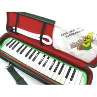 支持货到付款 奇美37键口风琴 配口风琴吹嘴+吹管+擦琴布 中小学常用 教育局指定产品 (粉色 或 绿色)