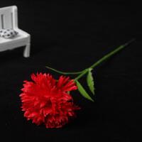 妈妈母节教师节礼物单只支康乃馨花仿真玫瑰香皂花花店花束包装