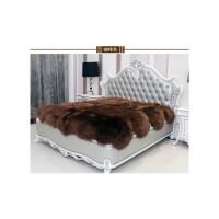 纯羊毛床垫皮毛一体整张羊皮褥子羊羔绒床毯加厚保暖定制款说尺寸定价格定制