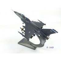 F16战斗机模型1:72F16模型合金战斗机模型美国战斗机模型藏摆件建军节纪念品