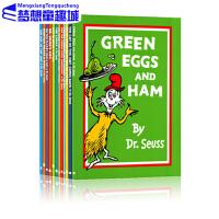 苏斯博士英文原版绘本3 6岁 Dr. Seuss 12册套装 大开本 廖彩杏书单 阶段阅读系列