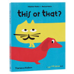 【T&H】This or that,这个还是那个 英文儿童翻翻趣味立体书 3-6岁