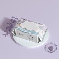babycare湿巾婴儿手口专用 宝宝新生儿屁屁加厚湿纸巾80抽*1包