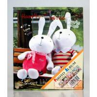 可爱metoo小熊相册 4D/大6寸相册100张不带盒装B款