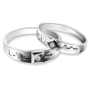 梦克拉 18K金钻石戒指 爱的联系 可礼品卡购买