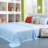 竹浆竹纤维毛巾被盖毯单双人午睡毛毯休闲毯夏儿童夏凉毯子定制