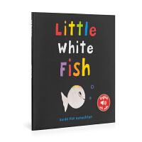 英文原版 Little White Fish 小白鱼 低幼绘本 0-6岁 儿童图画书 亲子阅读