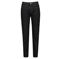 女裤2018冬季新款韩版加绒牛仔裤女高腰显瘦黑色小脚哈伦