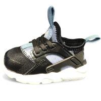 【到手价:214.5元】耐克儿童鞋新款华莱士跑步鞋男女童运动鞋859594-014 浅蓝/黑