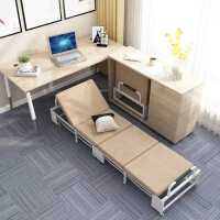 折叠床办公室午休加固小单人床便携简易四折陪护床家用午睡神器床