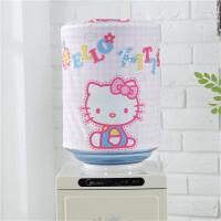 田园布艺饮水机罩子韩式简约现代饮水机套子家用饮水机桶罩定制