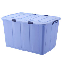 350L特大号整理箱塑料衣服被子收纳箱有盖长方形储物箱加厚周转箱 超大350L95x67x54cm