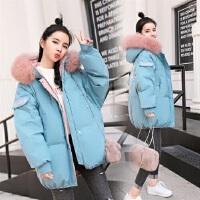 2018冬季新款女装羽绒外套短款小棉袄学生韩版时尚加厚棉衣潮