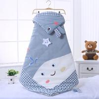抱被新生儿包被无印水洗棉抱毯初生婴儿小被子秋冬可订制脱胆MY-01 95*95