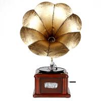 新品复古留声机摆件仿古大喇叭模型家居装饰品摆件 五十 厘米